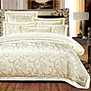 cheap High Quality Duvet Covers-Duvet Cover Sets Floral Silk Embroidery 4 Piece
