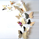 abordables Adhesivos de Pared-Animales Pegatinas de pared Adhesivos de Pared Espejo Calcomanías Decorativas de Pared, Vinilo Decoración hogareña Vinilos decorativos