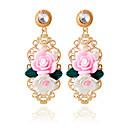 olcso Fülbevalók-Női Beszúrós fülbevalók - Virág Divat Rózsaszín Kompatibilitás Esküvő