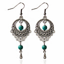cheap Earrings-Women's Hoop Earrings - Fashion Green For Wedding