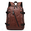 cheap Backpacks-Men's Bags Canvas Backpack Zipper Black / Coffee / Brown