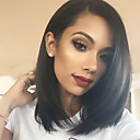cheap Human Hair Capless Wigs-Human Hair Unprocessed Human Hair Lace Front Wig Brazilian Hair Straight Wig 130% Density 10-26 inch Women's Short Medium Length Long Human Hair Lace Wig