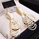 cheap Earrings-Women's Girls' Fashion Gold Plated Earrings Jewelry Gold / Silver For Wedding Party Casual