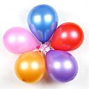 baratos Balões-Bolas / Balões / Brinquedo Educativo Festa / Clássico / Inflável Silicone / Látex 100 pcs Clássico Infantil Para Meninos Dom