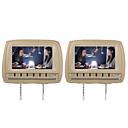 """baratos Fones de Ouvido-9 """"carro headrest dvd player suporte fm transmissor sem fio jogo (1 par)"""
