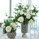 abordables Flores Artificiales-Flores Artificiales 1 Rama Estilo moderno Peonías Flor de Mesa