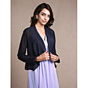 cheap Wedding Wraps-Long Sleeve Chiffon Party Evening Women's Wrap With Scales Coats / Jackets