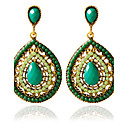 cheap Earrings-Women's Stud Earrings - Fashion Green For Wedding