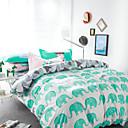 cheap Cartoon Duvet Covers-Duvet Cover Sets Floral Cotton Reactive Print 4 Piece / 600