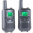 baratos Walkie Talkies-T899C Rádio de Comunicação Portátil VOX Codificação CTCSS/CDCSS LCD Explorar Monitoramento 3 - 5 km 3 - 5 km 8 AAA 0.5W Walkie Talkie