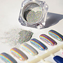 baratos Glitter para Unhas-1 pcs Glitter & Poudre / Pó Glitters / Clássico Nail Art Design Diário