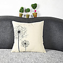 cheap Pillow Covers-pcs Cotton/Linen Pillow Cover, Graphic Prints Casual