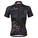 ieftine Jerseru Cycling-ILPALADINO Pentru femei Manșon scurt Jerseu Cycling Bicicletă Jerseu, Uscare rapidă, Rezistent la Ultraviolete, Respirabil