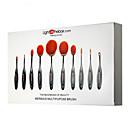hesapli Moda Bileklikler-10pcs Makyaj fırçaları Profesyonel Sentetik Saç / Suni Fibre Fırça Profesyonel / Tam Kaplama Plastik