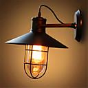 رخيصةأون شمعدان الحائط-ريفي / بلدي مصابيح الحائط معدن إضاءة الحائط 110-120V / 220-240V 40W