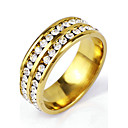 cheap Men's Rings-Men's Band Ring - Punk, Rock 6 / 7 / 8 Golden For Christmas Gifts / Daily / Casual