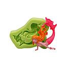 preiswerte Backformen-Backwerkzeuge Silikon Umweltfreundlich / 3D / Heimwerken Kuchen / Obstkuchen / Chocolate Tier Backform 1pc
