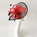 preiswerte Parykopfbedeckungen-Flachs Feder Fascinators Kopfstück elegant klassisch femininen Stil