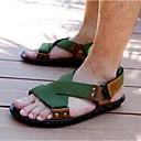 abordables Sandalias de Hombre-Hombre Zapatos Nailon Tela Verano Sandalias para Casual Negro Verde