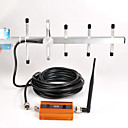 billige Signalforsterkere-gsm 900mhz signalforsterker gsm signal repeater mobiltelefon signalforsterker vegginstallasjon ul 890-915mhz dl 935-960mhz yagi antenne