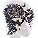 cheap Masks-Halloween Mask Halloween Prop Halloween Accessory Masquerade Mask Sexy Lace Mask Headgear Garden Theme Novelty Holiday Fairytale Theme