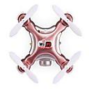 preiswerte Teile & Zubehör für ferngesteuerte Modelle-RC Drohne Cheerson CX-10WD 4 Kan?le 2 Achsen 2.4G Mit HD - Kamera 0.3MP 480P Ferngesteuerter Quadrocopter FPV / Zugang In Echtzeit Footage