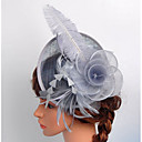 cheap Wedding Wraps-Lace / Organza / Net Fascinators / Birdcage Veils with 1 Wedding / Special Occasion / Outdoor Headpiece