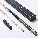 cheap Billiards & Pool-Three-quarter Two-piece Cue Cue Sticks & Accessories Snooker / English Billiards Wood 1.45 m