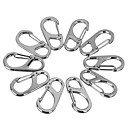 cheap Camping Tools, Carabiners & Ropes-Others Multitools Buckle Durable Convenient Multi Function Pocket Hiking Camping Travel Indoor Outdoor Alloy cm 10 pcs