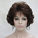 cheap Synthetic Capless Wigs-new wavy curly auburn 31 short synthetic hair full women s thick wigs for everyday