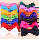 cheap Dog Collars, Harnesses & Leashes-Cat Dog Tie/Bow Tie Dog Clothes Bowknot Rose Red Green Pink Light Blue Terylene Costume For Pets Men's Women's Holiday Birthday Cosplay