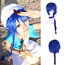 tanie Peruki do cosplay anime-Peruki syntetyczne / Peruki do kostiumów Prosta Włosie synetyczne Peruka Damskie Bardzo długie Niebieski