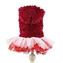 abordables Adhesivos de Pared-Perro Saco y Capucha Vestidos Ropa para Perro Un Color Morado Rojo Lana Polar Disfraz Para mascotas Mujer Bonito Cumpleaños Mantiene