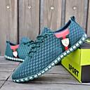 voordelige Herensneakers-Heren Schoenen Katoen Lente / Herfst Comfortabel Sneakers Lichtgrijs