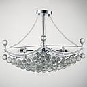 preiswerte Kronleuchter-QINGMING® Invertiert Pendelleuchten Raumbeleuchtung Galvanisierung Metall Glas Kristall 110-120V / 220-240V Glühbirne nicht inklusive / E12 / E14