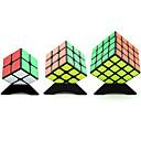 abordables Cubos de Rubik-Cubo de rubik YONG JUN 2*2 / 4*4*4 / 3*3*3 Cubo velocidad suave Cubos mágicos rompecabezas del cubo Nivel profesional / Velocidad Regalo