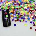 abordables Decoraciones y Diamantes Sintéticos para Manicura-1 pcs Joyas de Uñas Lentejuelas Diseños de Moda / Lentejuelas / Espumoso arte de uñas Manicura pedicura Diario Accesorios / Brillos Y Estrellas / Joyería de uñas
