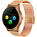 cheap Personal Protection-Smartwatch for iOS / Android Heart Rate Monitor / Long Standby / Touch Screen / Distance Tracking / Pedometers Stopwatch / Activity Tracker / Sleep Tracker / Sedentary Reminder / Alarm Clock / 64MB
