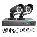 זול ערכת DVR-twvision ® 4ch hdmi 960h cctv dvr מעקב מקליט 1000tvl בחוץ waterproof מצלמות cctv