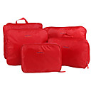 cheap Travel Bags-5 sets Travel Bag / Travel Luggage Organizer / Packing Organizer / Packing Cubes Portable / Foldable / Travel Storage Clothes Nylon Travel