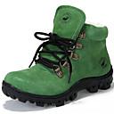 preiswerte Herren Stiefel-Unisex Schuhe Wildleder Winter Stiefel Walking Schnürsenkel für Grün / Blau