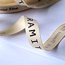 hesapli Çıkartmalar, Etiketler ve Tagler-Harf Grogen Düğün Kurdela Adet / Set Grogen Kurdele