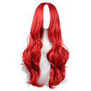 cheap Synthetic Capless Wigs-Synthetic Wig / Cosplay & Costume Wigs Wavy Synthetic Hair Red Wig Women's Long