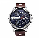 cheap Military Watches-CAGARNY Men's Quartz Wrist Watch Military Watch Japanese Calendar / date / day Water Resistant / Water Proof Leather Band Luxury Fashion