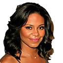 billige Kostymeparykk-Ekte hår U-del Parykk Naturlige bølger Parykk Naturlig hårlinje / Afroamerikansk parykk / 100 % håndknyttet Dame Lang Blondeparykker med menneskehår