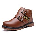 preiswerte Kleidersets für Jungen-Jungen Stiefel Stiefeletten Komfort Modische Stiefel Kunstleder Frühling Herbst Winter Normal Stiefeletten Komfort Modische Stiefel
