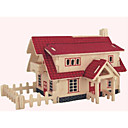 cheap 3D Puzzles-Wooden Puzzle House Professional Level Wooden 1pcs Kid's Boys' Gift