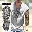 billige Midlertidige tatoveringer-1 pcs Tatoveringsklistermærker Midlertidige Tatoveringer Vandtæt / Ikke Giftig / Stor Størrelse Kropskunst Krop / hænder / skulder