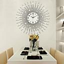 hesapli Çağdaş / Modern Duvar Saatleri-Modern/Çağdaş Evler Duvar Saati,Diğerleri Akrilik / Cam / Metal 65*65cm İç Mekan Saat