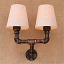 billige Vegglamper-Rustikk / Hytte Vegglamper Metall Vegglampe 110-120V / 220-240V 3W
